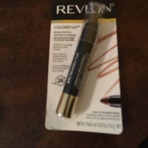 Revlon brow pencil rimmel lip pen